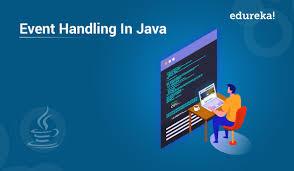 What is Event handling in java?