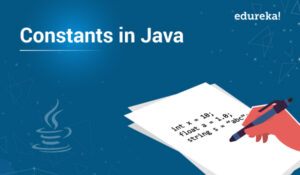 What is constant in java and it's types?